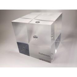 Acrylic cube Ruthenium