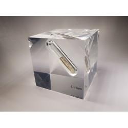 Acrylic cube Lithium