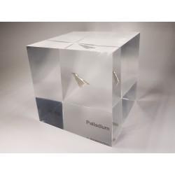 Acrylic cube Palladium