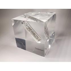 Acrylic cube Cadmium