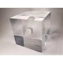 Acrylic cube Indium
