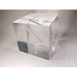 Acrylic cube Tin