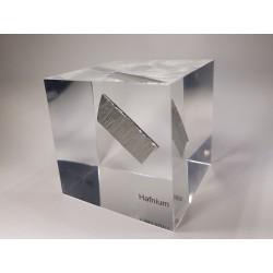 Acrylic cube Hafnium